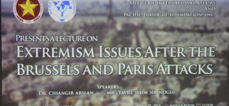 A LECTURE ONE EXTREMISM ISSUES AFTER PARIS AND BRUSSELS ATTACKS